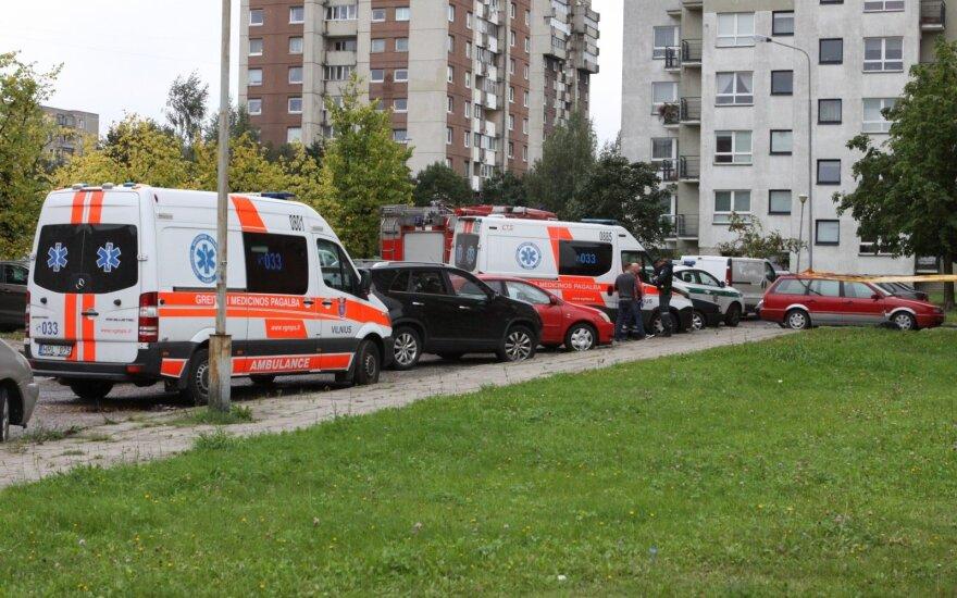 Kruvina poros drama Vilniuje: nužudęs buvusią draugę vyras nusižudė
