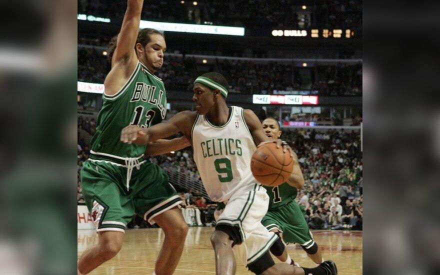 """""""Bulls"""" prancūzui J.Noah leidžia tik treniruotis su rinktine"""