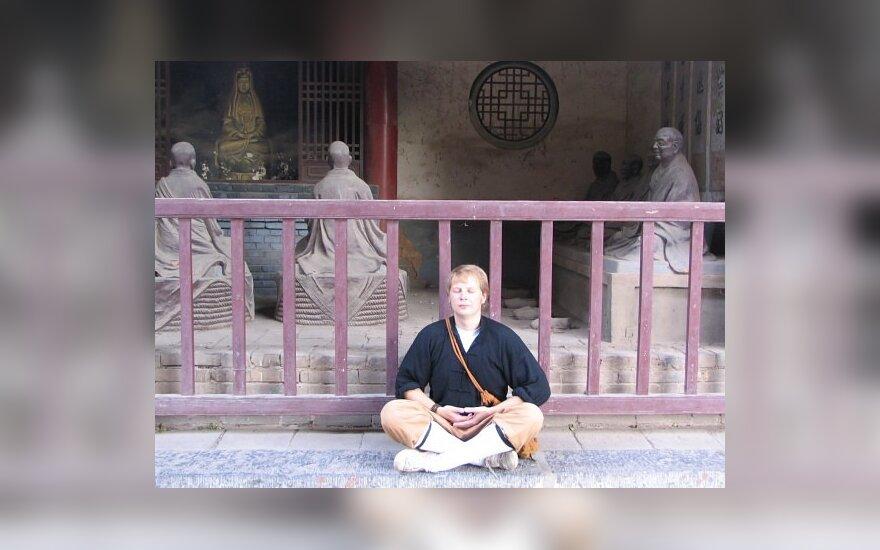 Tomas Lapinskas Kinijoje