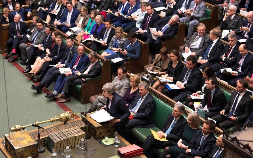 """Britų parlamento pirmininkas: vyriausybė nebegali siūlyti tos pačios """"Brexit"""" sutarties"""