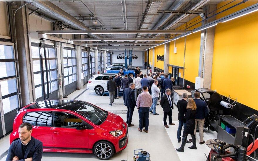"""Lietuvoje atidaryta pirmoji automobilių priežiūros tinklo """"BestDrive"""" atstovybė"""