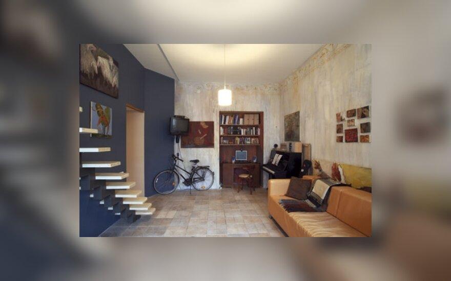 I. Vaičiūnaitės-Vosylės buto interjeras