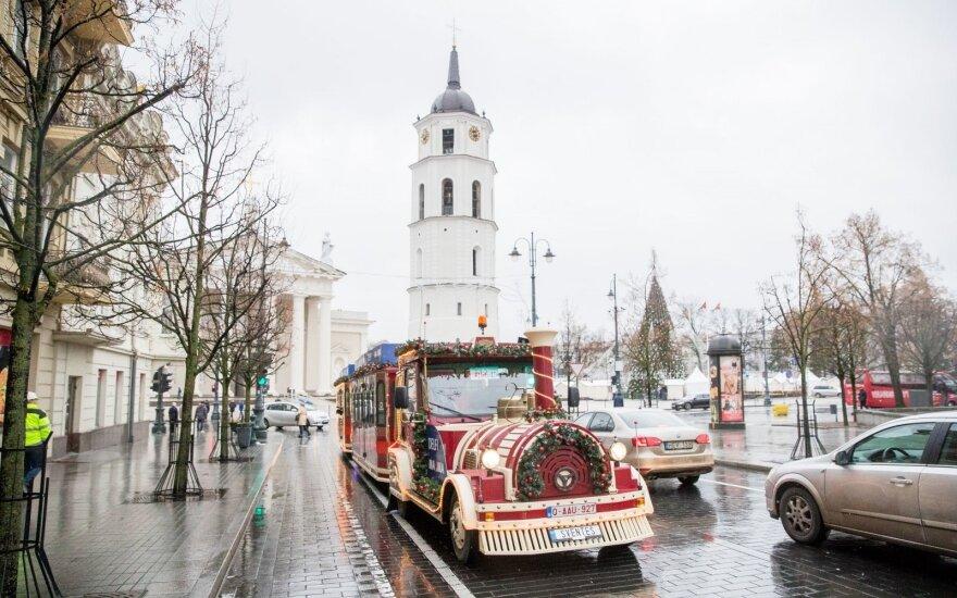 Nuo rytojaus Kalėdų traukinukas važiuos kitaip