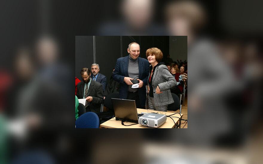 Zita ir Arvydas Šliogeriai