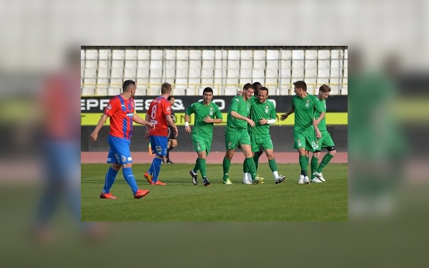 "Vilniaus ""Žalgirio"" futbolininkai (A. Kero nuotr.)"