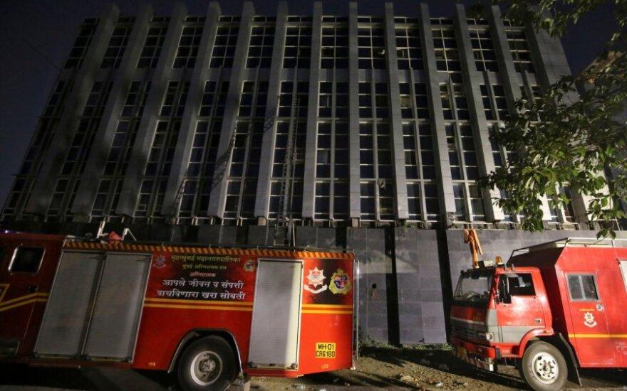 Per gaisrą Mumbajaus ligoninėje žuvo aštuoni žmonės