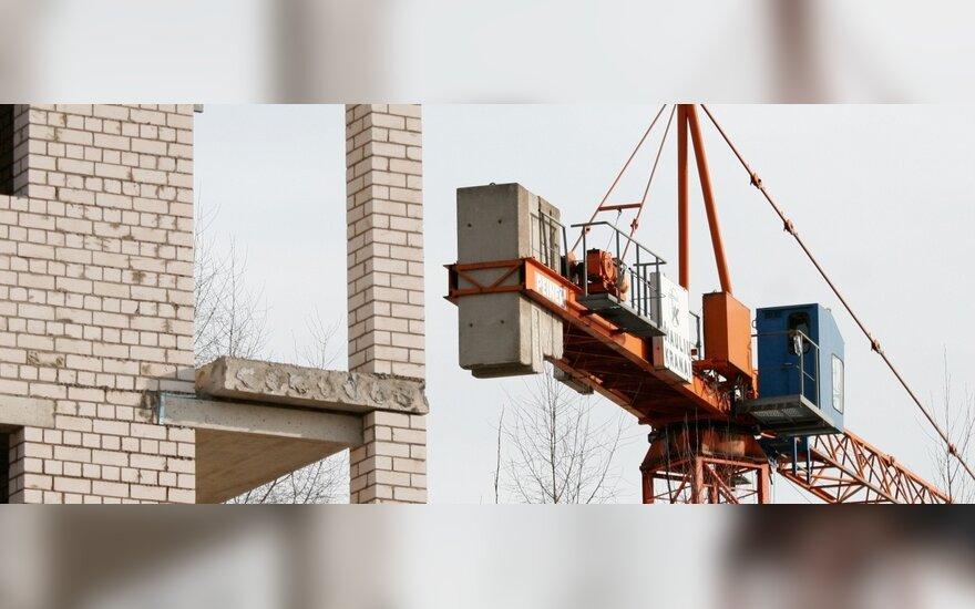 Statybų sektorius Latvijoje pirmąjį ketvirtį smuko 15 proc.