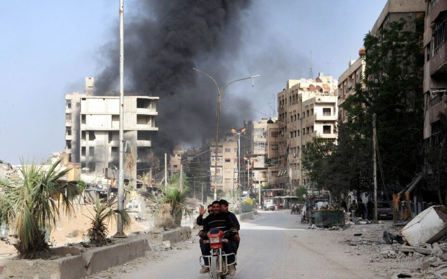 Antskrydžiai pietų Sirijoje nusinešė 22 civilių gyvybes