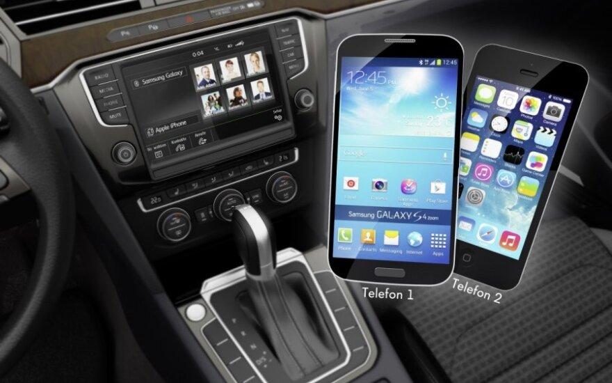 Telefonas automobilyje