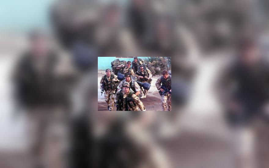Britų desantininkai Irake