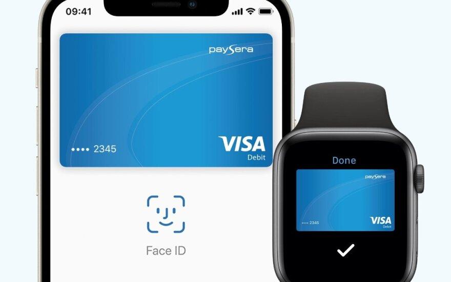 """""""Paysera"""" klientams pristato """"Apple Pay"""""""