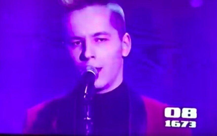 """Gražvydo pasirodymas """"Lietuvos balse"""""""