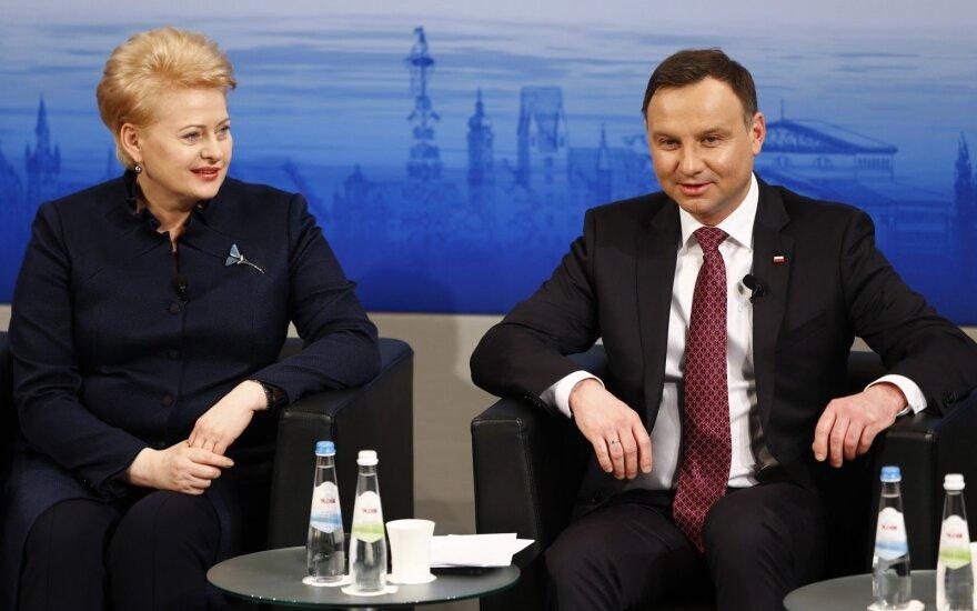 Dalia Grybauskaitė, Andrzej Duda