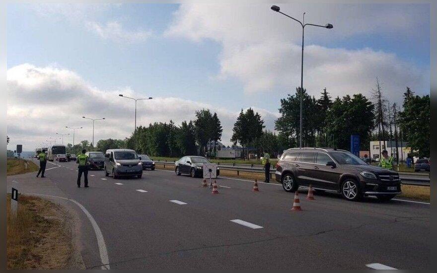 Policijos reidas: nustebsite, kiek girtų vairuotojų trečiadienio rytą išvažiavo į gatves
