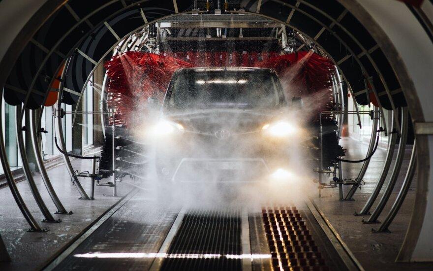 Tunelinė automobilių plovykla