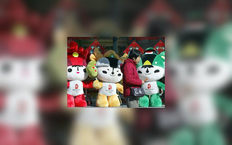 Kinė eina pro 2008 metų Pekino olimpinių žaidynių reklamą