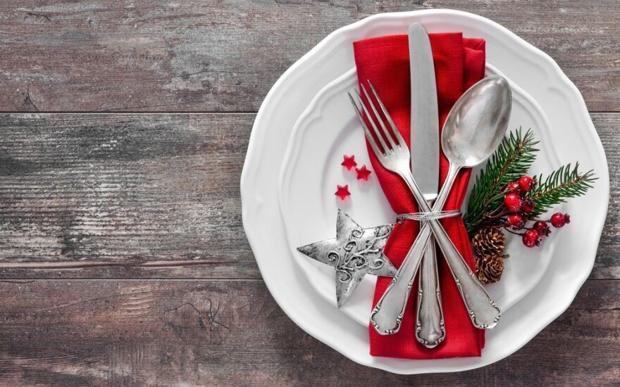 Stalo dekoras - ne mažiau svarbus nei maistas