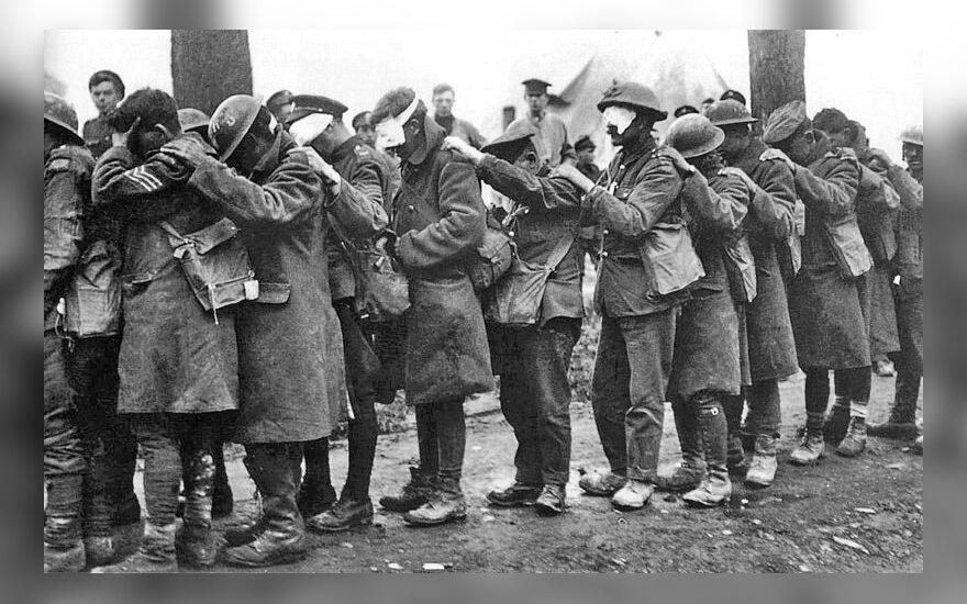 Artėjant 100-osioms pasaulinio karo metinėms, šalys dalijasi kaltę