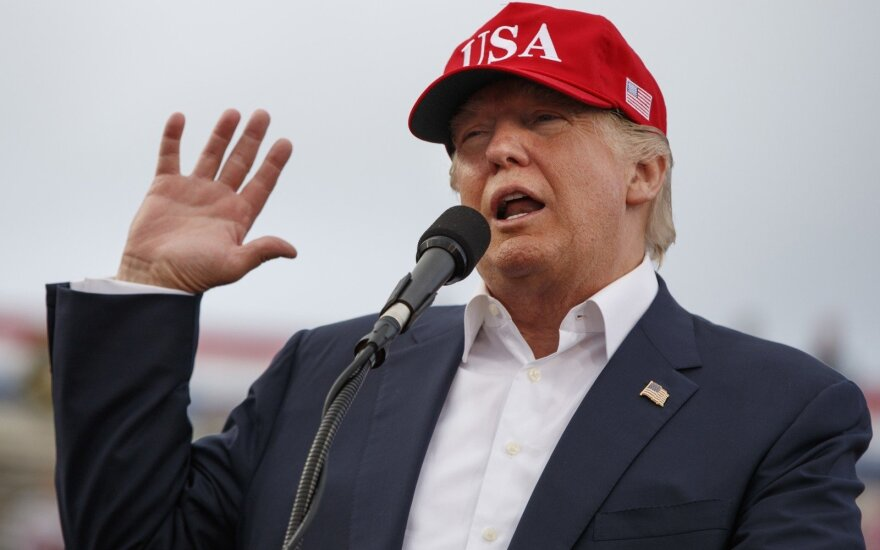 """D. Trumpas pavadino Jungtines Tautas """"klubu"""", kur žmonės gerai leidžia laiką"""