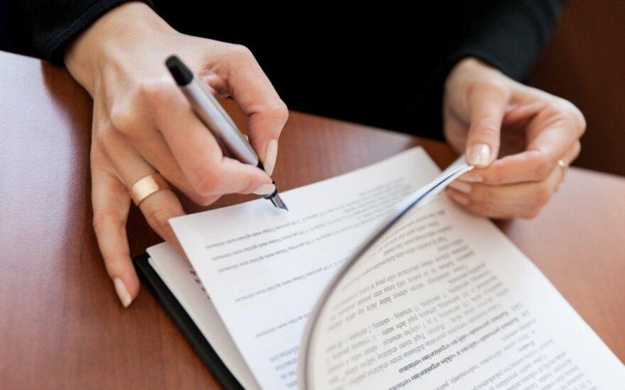 Kodekso pataisa leistų notarinius sandorius sudaryti ir nuotoliniu būdu