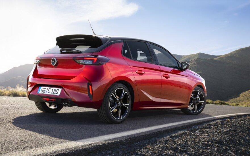 "Naujas ""Opel Corsa"" modelis"