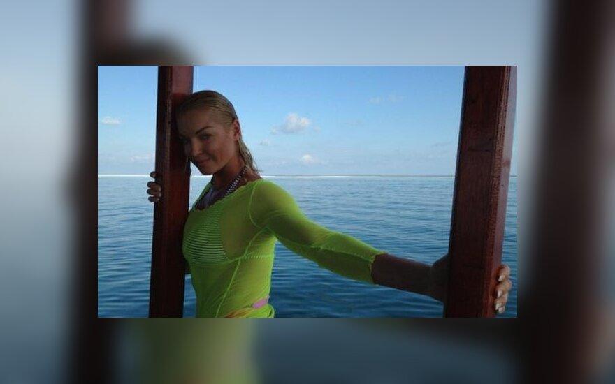 Anastasija Voločkova. Nuotr. iš Twitter.com