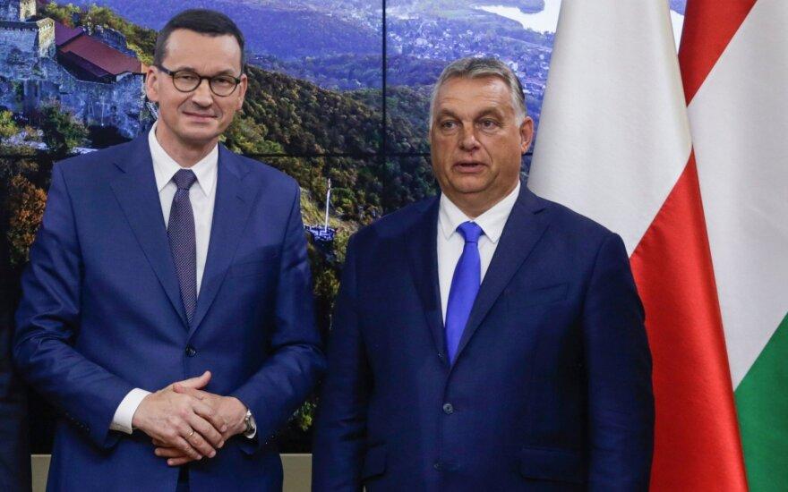Mateuszas Morawieckis, Viktoras Orbanas