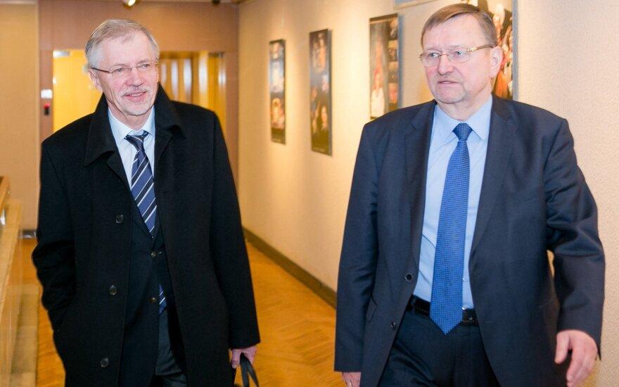 Gediminas Kirkilas ir Juozas Bernatonis