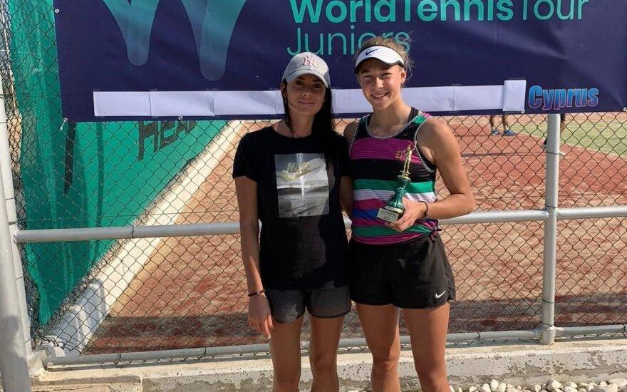 15-metė Paukštytė triumfavo turnyre Kipre