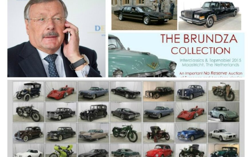 S. Brundzos automobilių kolekcija