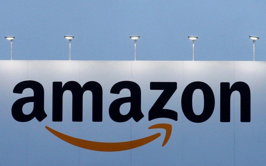 """Naujojo """"Amazon"""" Niujorko sandėlio darbuotojai skelbia junionizacijos kampaniją"""