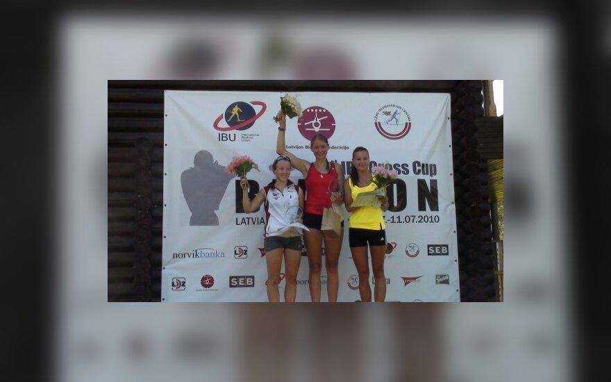 Sėkmingi lietuvių startai vasaros biatlono Europos taurės etape