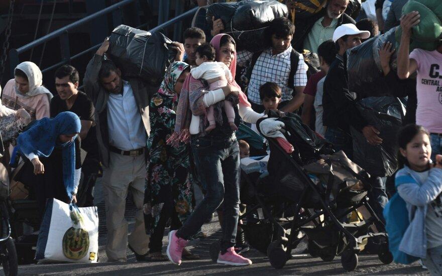 Vokietijoje trys iš keturių imigrantų iš Sirijos gauna bedarbio pašalpą