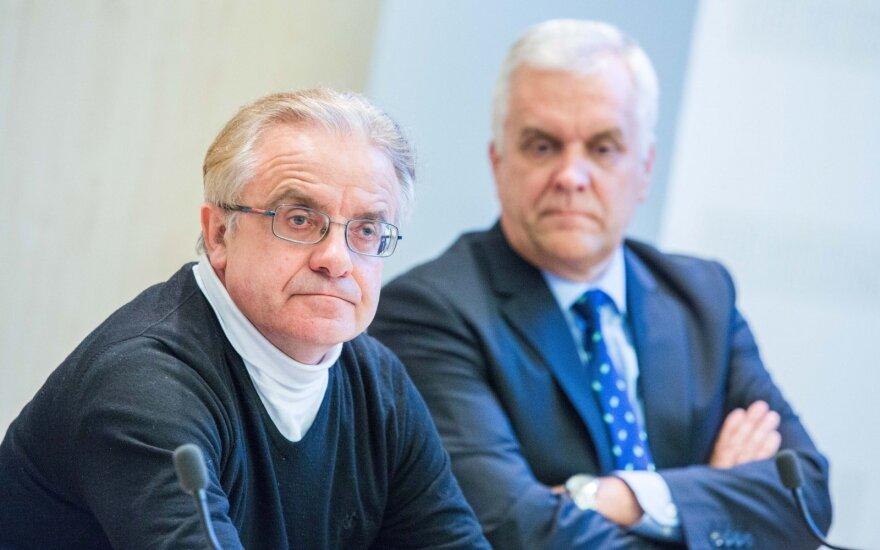 Vytautas Radžvilas, Alvydas Jokubaitis