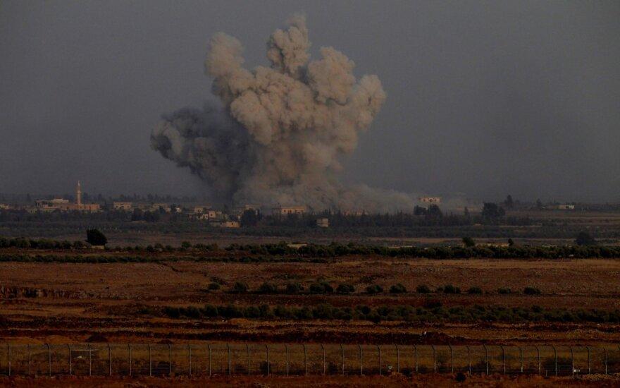 Per numanomą Izraelio smūgį Sirijoje žuvo trys Irano remiamų pajėgų kovotojai