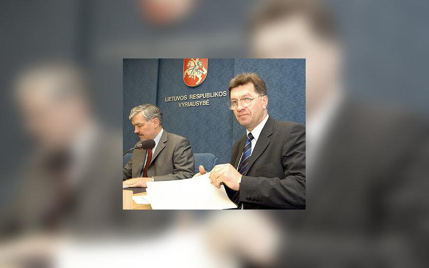 Zenonas Balčytis ir Algirdas Butkevičius