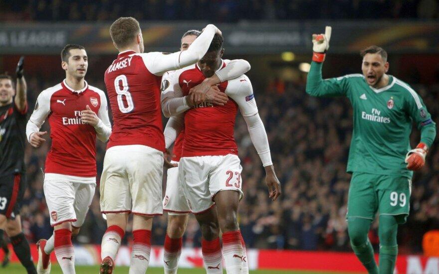 """UEFA Europos lygoje – įspūdingas lenko įvartis, CSKA išsigelbėjimas ir """"Arsenal"""" žygis"""