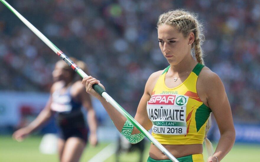 Europos lengvosios atletikos čempionato atranka: Liveta Jasiūnaitė
