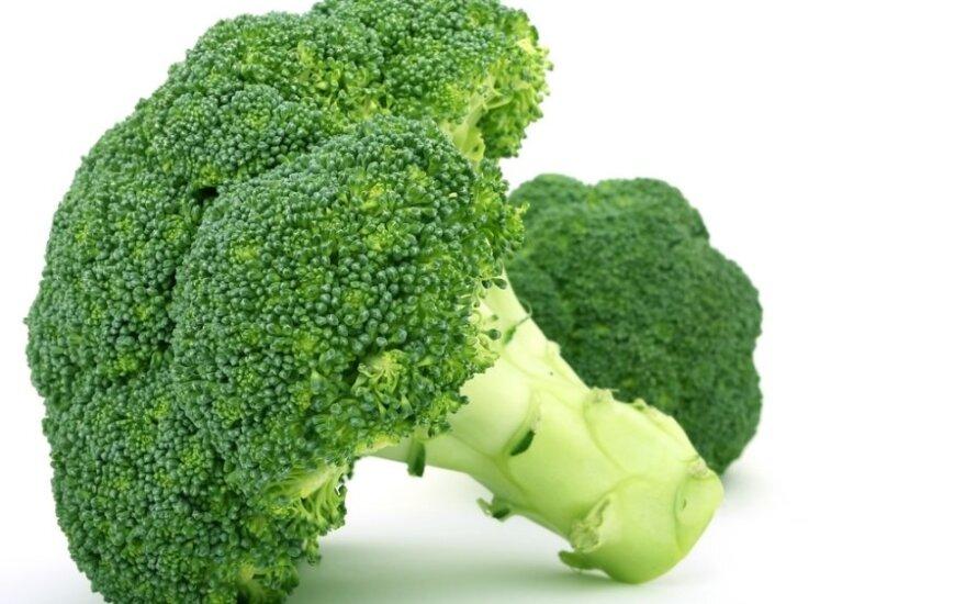 Brokoliai, kopūstai, vegetarizmas
