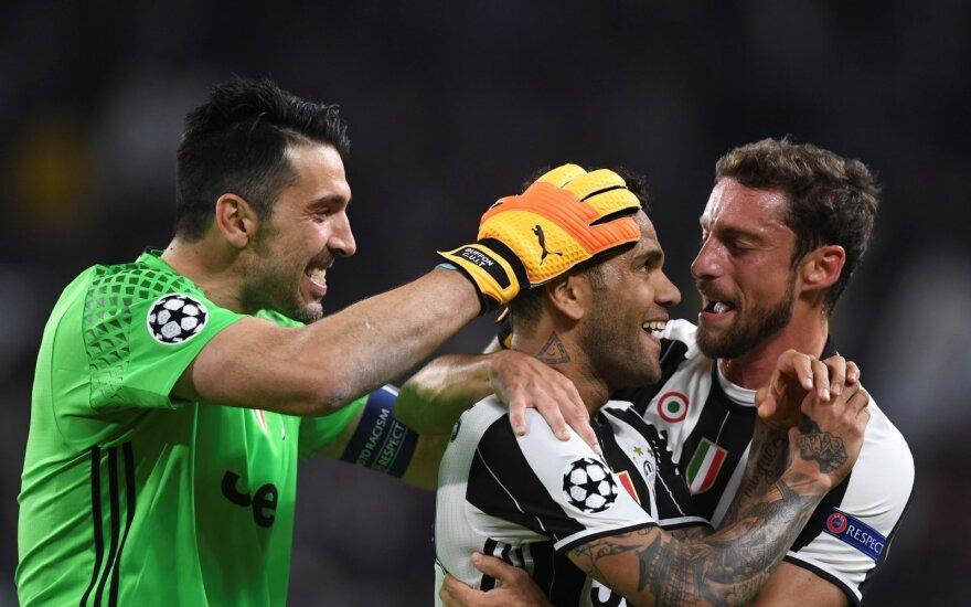 """Čempionų lygos rungtynės: """"Juventus"""" – """"Monaco"""""""