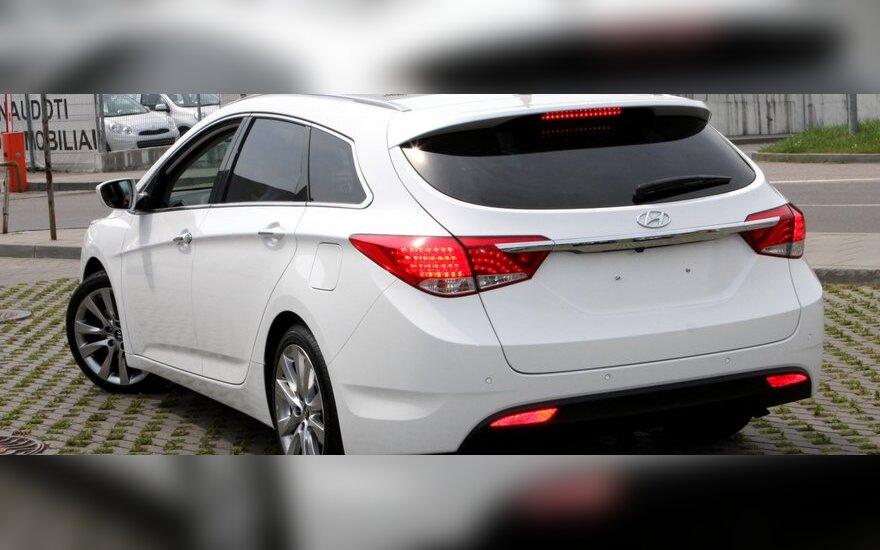 Hyundai i40 atvyko į Vilnių