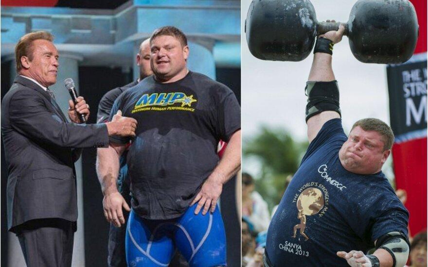 Geriausias visų laikų galiūnas Savickas atsisveikinti su sportu nori pasaulio rekordu