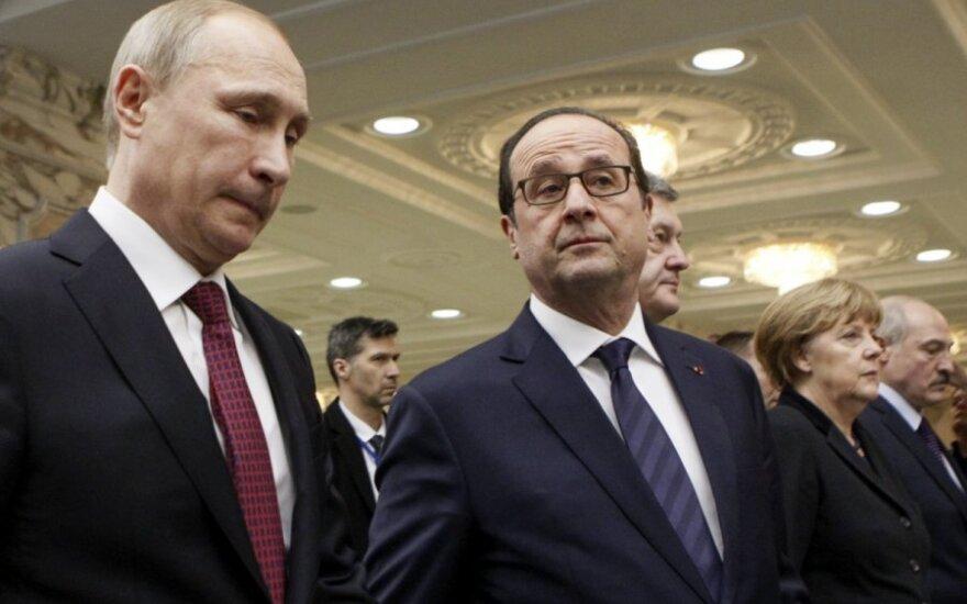 Francois Hollande'as, Vladimiras Putinas