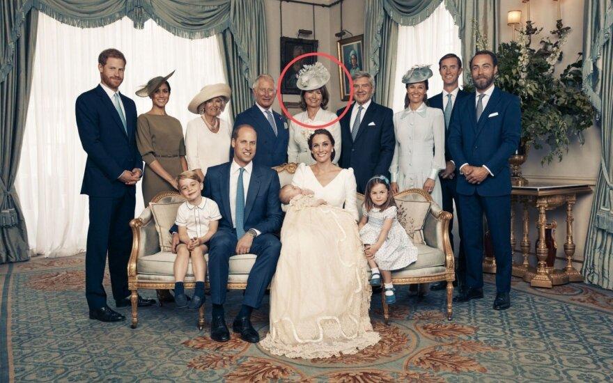 Princo Louiso krikštynų akimirka