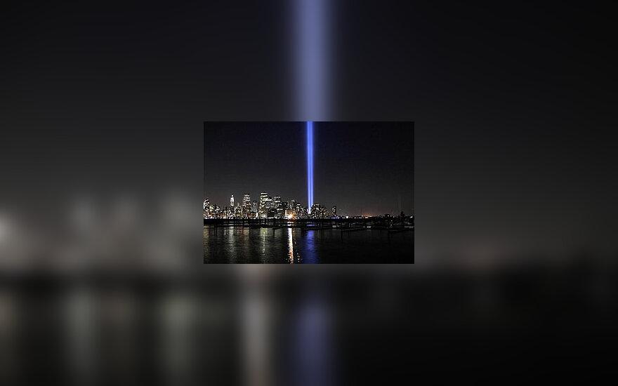 Rugsėjo 11-osios paminėjimas Niujorke.