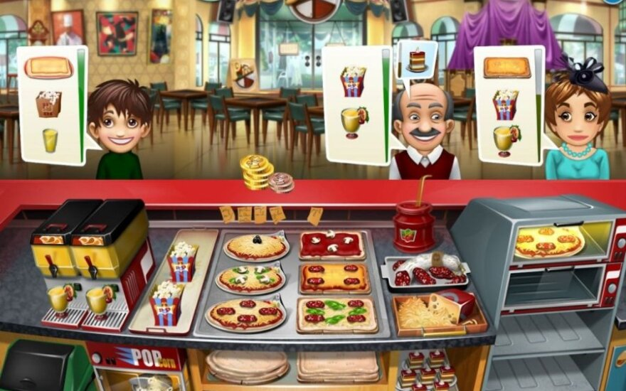 "Žaidimas ""Cooking Fever"""