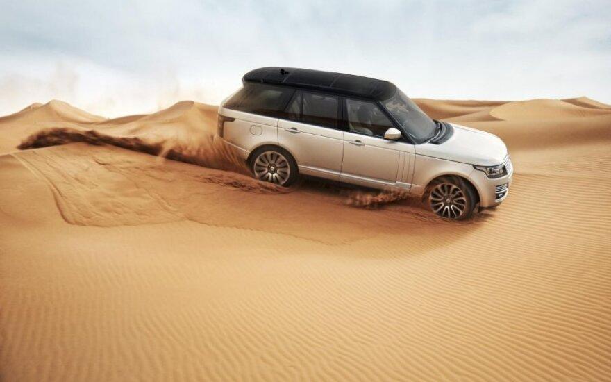 Rusijos metų automobilis Range Rover
