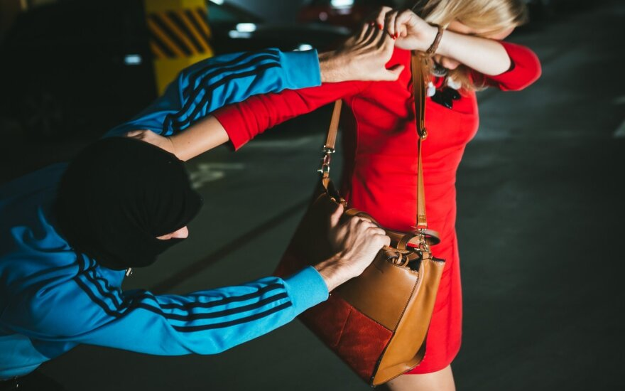 Alytuje prieš šventes moteris apiplėšinėjęs nusikaltėlis sulaikytas