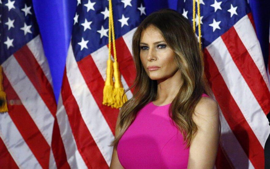 M. Trump apskundė žiniasklaidos priemones, teigusias, kad ji dirbo palydove
