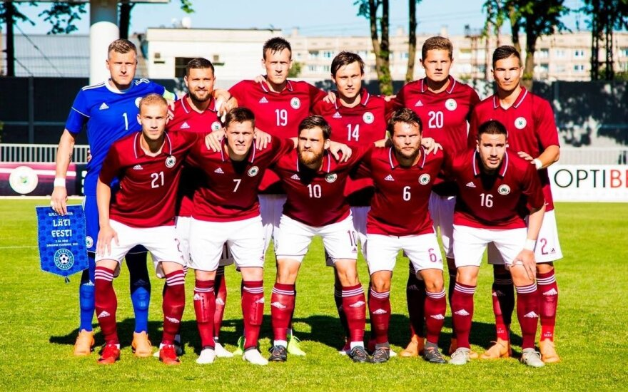 Latvijos nacionalinė futbolo rinktinė